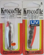 2 - Luhr Jensen Krocodile Spoon - 3/8 oz. - Two Colors!