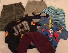 Next JCB Superman f&f garçons 4-5 ans Bundle Swim Shorts Jeans Pull