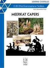 Gemm Piano Solo Meerkat Capers by Jeanne Costello
