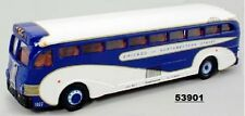 Corgi 53901 Yellow Coach 743 Bus GREYHOUND UNION PACIFIC CHICAGO/NORTHWESTERN