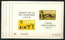 611765) Mexiko Block 7-10** Olympiade