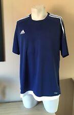 ADIDAS Blue Climalite T Shirt Tee  Size XLarge XL