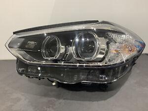 BMW X3 X4 2020 Left LED Headlight Passenger Side G01 G02 - 8739649