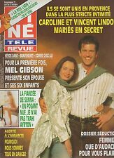 CINE REVUE (belge) 1995 N°40 mel gibson bourvil diana adriane senna michele torr