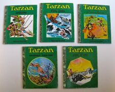 Tarzan collection of 5 Superscope Story Teller illustrated books 1977 Hogarth