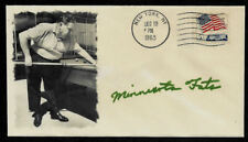 Minnesota Fats Featured on Ltd Edt. Collector's Envelope Repr Autograph *OP995
