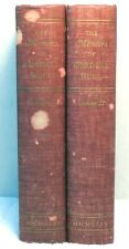 2 Vol Set MEMOIRS OF CORDELL HULL Vol 1 & 2 Politics World War II WWII History