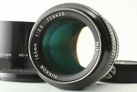 [Exc+5 w/ Hood] Nikon New NIKKOR 105mm f2.5 Ai Coverted Lens From Japan