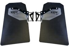 Lonestar Racing LSR Trailing Arm Mud Flaps Pair Polaris RZR XP 1000 / Turbo RS1