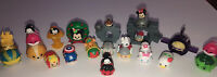 Lot Tsum Tsum Disney Marvel Small Med Large 24 Figures 6 Stands SM304