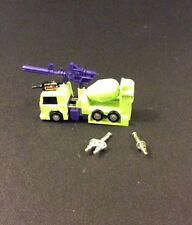 TRANSFORMERS Generation 1 Decepticon MIXMASTER Action Figure Toy 1985 G1 COMPLET
