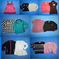13 Piece Lot Nice Clean Girls Size 6 Fall School Winter Everyday Tops 2w88