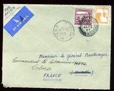 Palestine - Enveloppe de Jérusalem pour la France en 1947 - réf O64