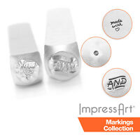 ImpressArt Handmade Quote Metal Stamping, Metal Stamps, 4mm, 6mm Size