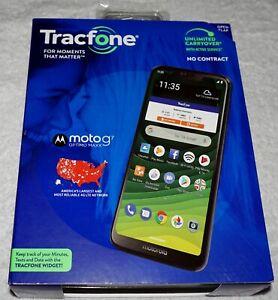 Tracfone Motorola Moto G7 Optimo Maxx 4G LTE Prepaid 32GB SmartPhone NEW
