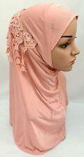Muslim Women Tassel Hot Drill Caps Islamic Scarf Shawls Headwear Arab Hijab Hats