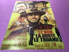 THE GOOD, THE BAD AND THE UGLY (1966) • FRENCH • A4 - A1 POSTER • FREE DELIVERY
