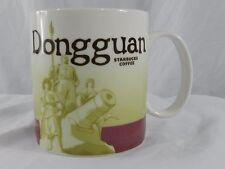Starbucks Dongguan Global Icon City Collectors Series 16 oz Coffee Mug Burgundy