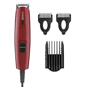 Conair GMT8NCS Beard & Mustache Corded Trimmer With 3 All-Purpose Combs NEW