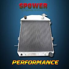 Aluminum Radiator 3 Rows 62mm For Ford Model-T Bucket Chevy Engine  AT MT 24-27