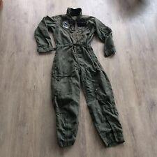 Vintage Vietnam Aeronautical Systems Division Flight Suit Coverall Pilot Uniform