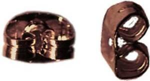 Embout papillon boucle d'oreille Cuivré (lot 10 paires) - MegaCrea