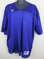 Mens Russell Athletic Purple American Football Jersey Nfl Sport Shirt Xxl 2Xl