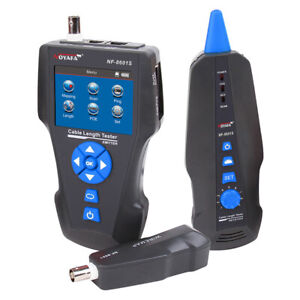 Noyafa NF-8601S LCD Metal Wire Tracker LAN Network Cable Tester Fit RJ45/RJ11