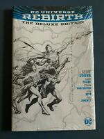DC Universe Rebirth The Deluxe Sketch Edition Hardcover Sealed