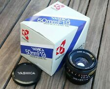 Yashica ML 50mm f1.9 Lens - Superb and Boxed - Very Nice!