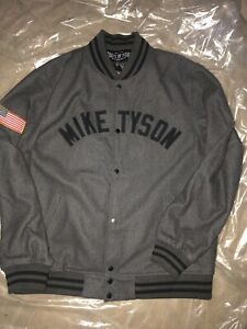 MIKE TYSON ROOTS  OF FIGHTS BLOODLINES JACKET MENS SIZE 3XL