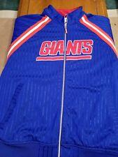 New york giants Mitchell & Ness Throw back Vintage Satin Jacket XXl