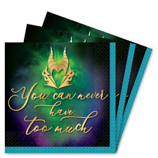 Disney Villians Maleficent luxury small beverage napkins (16)