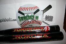 New Rare Nokona Tomahawk softball bat NIW HOT NK-HAWK-27 34 27 Black in Wrapper