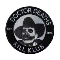 Kreepsville 666 Vincent Price Doctor Death Goth Horror Punk Iron On Patch PVPDD