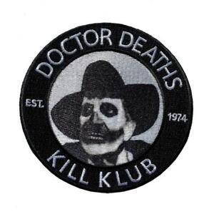 Kreepsville 666 Vincent Prix Médecin Mort Gothique Horreur Punk Patch à Repasser