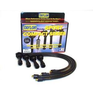 Taylor Spark Plug Wire Set 98069; ThunderVolt 50 Black for Mitsubishi 4cyl