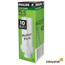 10 x Philips Master PL-C 10 Watt warmweiß 830 4P G24q-1 Kompaktleuchtstofflampe
