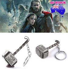 Silver Plated Keyring Men's Jewellery Wholesale Avenger Union Thor Hammer