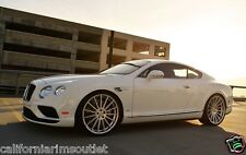 """22"""" RF15 STAGGERED CONCAVE WHEELS RIMS FOR BENTLEY CONTINENTAL GT & FLYING SPUR"""