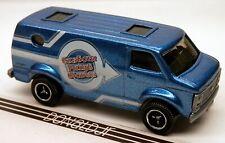 Matchbox Racing 1971-1977 Chevrolet G-Series Van Chevy Blue 1:74 Scale