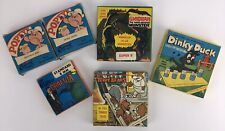 Vintage 8mm Cartoon Films Lot: Popeye, Dracula, Terry Bears, Dinky Duck, Ghidrah