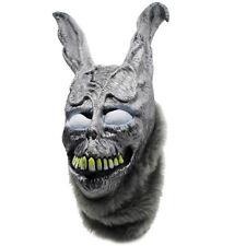 Donnie Darko FRANK Rabbit Mask the Bunny Latex Hood with Fur Halloween Helmet