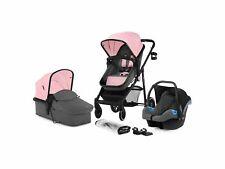Kinderkraft Kinderwagen 3in1 Kombikinderwagen Rome Travel System pink B-Ware