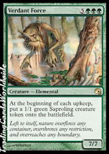 Verdant Force // Foil // NM // Premium Deck Series: Graveborn // engl. // Magic