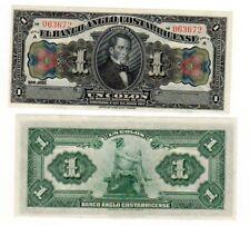 Costa Rica Billet 1 Colone 1917 P-S121 SERIE A UNC NEUF