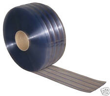 Ribbed Flexible PVC Door Strip/Curtain 200mm x 2mm x50m