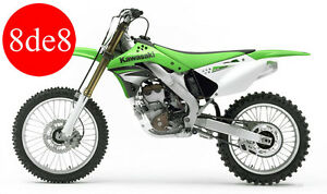 Kawasaki KX 250 F (2007) - Manual de taller en CD