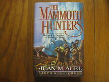 JEAN  M.  AUEL  Award-Winner Signed  Book(THE  MAMMOTH  HUNTERS- 1985 1st Edit.)