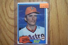 Nolan Ryan 1980 Topps Card is in great shape & is in a sleeve & hard case 03